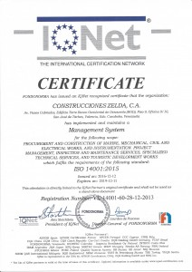 ISO 14001-2015 IQNET (2019)